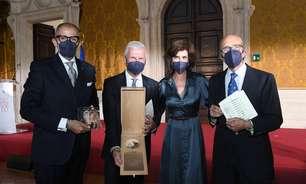 Andrea Illy recebe prêmio por promover Itália no mundo