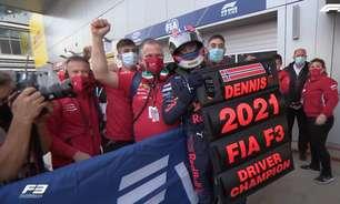 Hauger é campeão da F3 com 2º em corrida 1 na Rússia. Sargeant vence e Collet é 5º