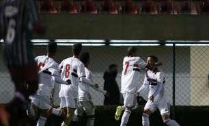 Autor do gol contra o Fluminense, Caio confia em classificação do São Paulo na Copa do Brasil sub-17
