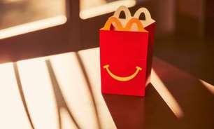 Mcdonald's quer 'McLanche Feliz' com brinquedo 100% sustentável até 2025