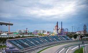 Sóchi abre fim de semana com céu azul e temperaturas amenas para treinos livres da F1