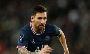 Messi é descartado de jogo do PSG contra o Montpellier