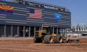 Intel inicia construção de fábricas nos EUA em meio a escassez global de chips