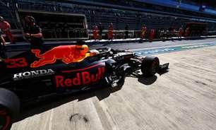 Red Bull troca motor, e Verstappen larga no fim do grid no GP da Rússia de F1