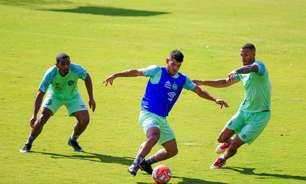 Atacante Bruno Silva assume nervosismo em primeira entrevista coletiva da carreira