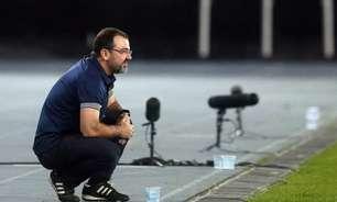 Enderson Moreira reconhece erro de Diego no Botafogo mas enaltece goleiro: 'Tem minha confiança'