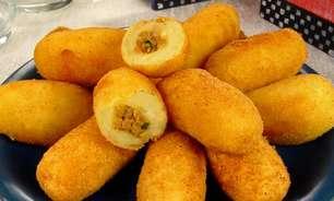 Croquete de mandioca com carne: petisco saboroso e prático