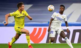 Em jogo travado, Real Madrid e Villarreal empatam sem gols