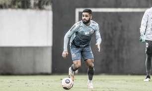 No 3-5-2 de Carille, Felipe Jonatan ganha nova função no Santos
