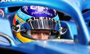 """Alonso se surpreende com sexto lugar em classificação """"estressante demais"""" na Rússia"""
