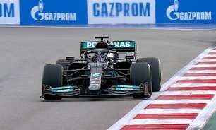 """Hamilton admite erro em batida nos boxes em Sóchi: """"Não se espera isso de um campeão"""""""