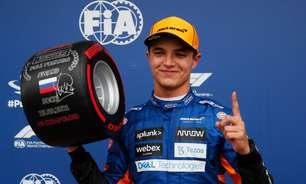 Norris na pole, Hamilton em 4º, Verstappen em último: a classificação do GP da Rússia de F1