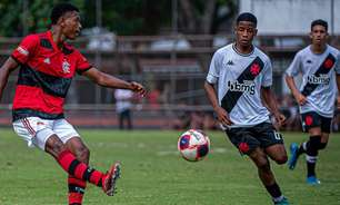 Sub-15: Flamengo derrota o Vasco de virada e segue nas primeiras colocações da Taça Guanabara