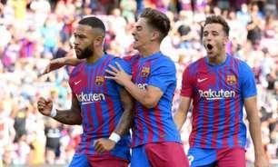 Luuk de Jong marca e Barcelona bate Levante por 3 a 0