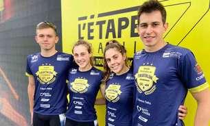 Paranaenses da Seleção Escolinha de Triathlon disputam Tour de France brasileiro