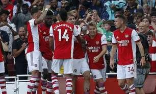 Jovens brilham e Arsenal derrota Tottenham em clássico