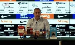 Pressionado no Corinthians antes do Dérbi, Sylvinho comemora: 'Deu resultado positivo'
