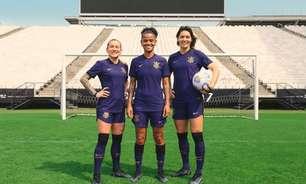 Corinthians lança terceira camisa roxa inspirada nas mulheres; estreia será na decisão do BR Feminino