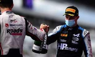 Piastri vence corrida principal da F2 na Rússia. Drugovich fica fora por decisão médica
