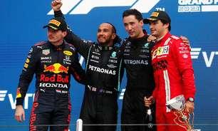 """Hamilton cita decisão fantástica da Mercedes, mas prevê """"trabalho dobrado"""" com Verstappen"""