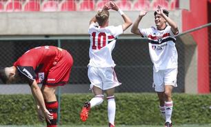 São Paulo sub-17 goleia Ituano pelo Campeonato Paulista e mantém invencibilidade
