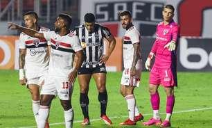 Volpi salva, e São Paulo e Atlético-MG empatam sem gols