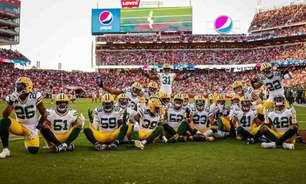 Green Bay Packers brinca com a sorte, mas derrota o San Francisco 49ers com o relógio estourado