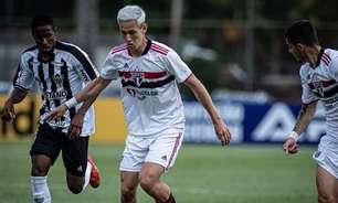 Sub-20: São Paulo vence o Atlético-MG e retoma liderança do Brasileiro