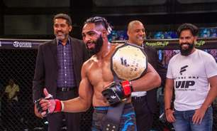 Em evento com boas lutas, Future FC MMA 13 consagra dois novos campeões; veja os resultados