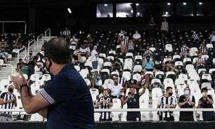 Enderson valoriza retorno da torcida em vitória do Botafogo: 'A razão maior de um clube é o torcedor'