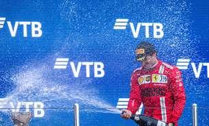 """Sainz se diz orgulhoso e elege GP da Rússia como """"melhor fim de semana pela Ferrari"""""""