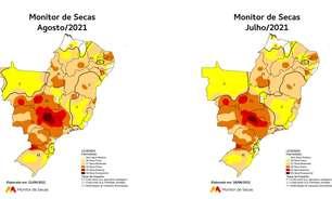 'Tempestade de areia': seca extrema explica haboob no interior de SP