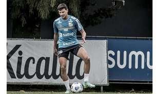 'Reforço', Augusto é inscrito e vai defender o Santos na Copa Paulista