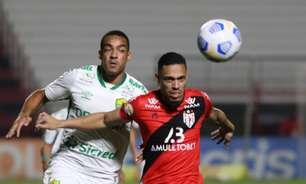 Em jogo movimentado na primeira etapa, Atlético-GO e Cuiabá acaba empate