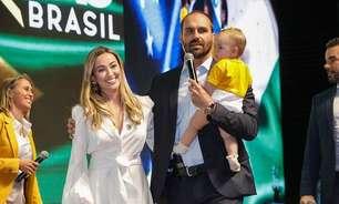 Esposa e filha de Eduardo Bolsonaro estão com covid-19