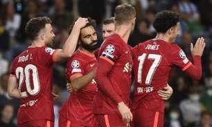 Liverpool faz 5 no Porto e lidera; Atlético vira sobre Milan