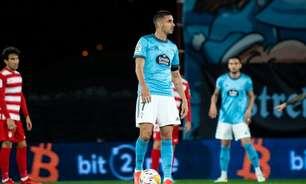 Com ajuda de Thiago Galhardo e gol no fim, Celta de Vigo vence primeira em casa em La Liga