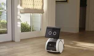 Amazon Astro é um robô doméstico que interage com você e vigia sua casa