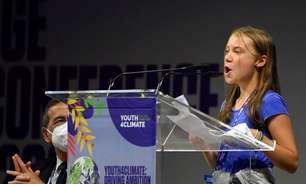 "Greta questiona conversas sobre clima na Itália: ""30 anos de blá blá blá"""