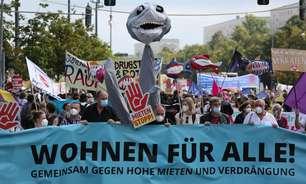 A constante luta de Berlim por aluguéis mais baratos