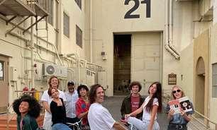 """""""Daisy Jones & The Six"""" ganha primeiras imagens de bastidores"""