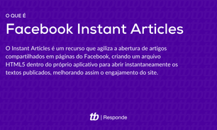 O que é o Facebook Instant Articles?