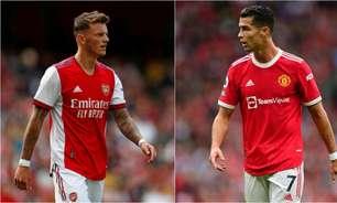 Meteu essa? Zagueiro do Arsenal se diz ansioso para enfrentar Cristiano Ronaldo: 'Acho que vou me sair bem'