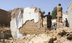 Terremoto mata 20 no Paquistão e deixa centenas de feridos