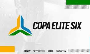 Copa Elite Six acontecerá entre os dias 11 e 17 de outubro
