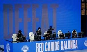 Red Canids leva virada em MD5 e dá adeus ao Mundial de LOL 2021