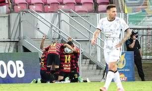 Sport freia reação do Corinthians, vence e deixa Z4