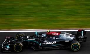 Hamilton domina classificação, mas Bottas herda pole na F1