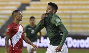 Fim de jejum! Bolívia vence Peru com um a menos