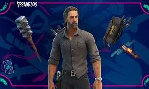 Rick Grimes de The Walking Dead chega ao Fortnite